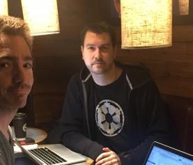 Författarsamtal med Markus Sköld